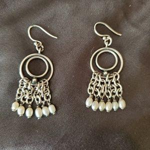 Silpada Pearl Earrings